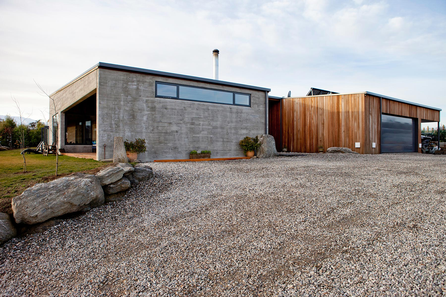 Rafe Maclean  Architects Mt Gold House